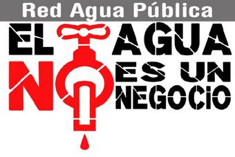 """Propuestas Red Agua Pública """"RAP"""" ante las elecciones generales 28A"""