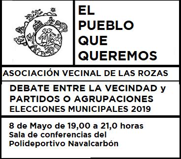 Debate entre Partidos y Ciudadanía de Las Rozas Elecciones Municipales