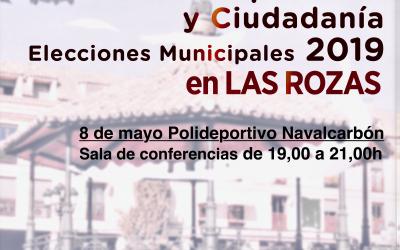 """Debate entre partidos y ciudadanía de Las Rozas """"Dinámica del Evento"""""""