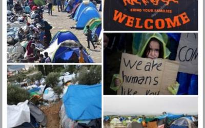"""Trailer Solidario """"Samos y Lesbos"""" Grecia. Recogida de juegos y manualidades en Las Rozas"""