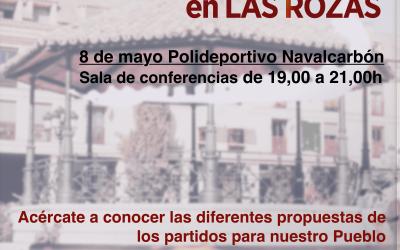 Debate Vecinal con Partidos Políticos Elecciones Municipales 2019 en Las Rozas