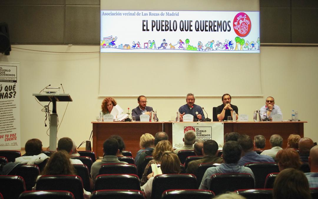 """Debate Vecinal con Partidos Políticos de EPQQ """"Agradecimiento"""""""