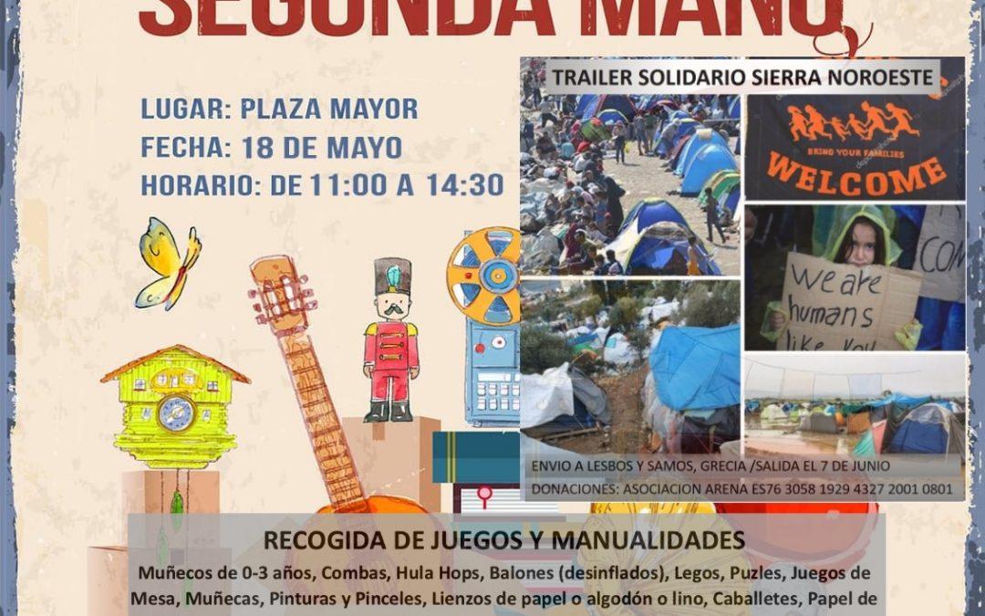 Mercadillo Vecinal de Segunda Mano, Trailer Solidario El Pueblo Que Queremos