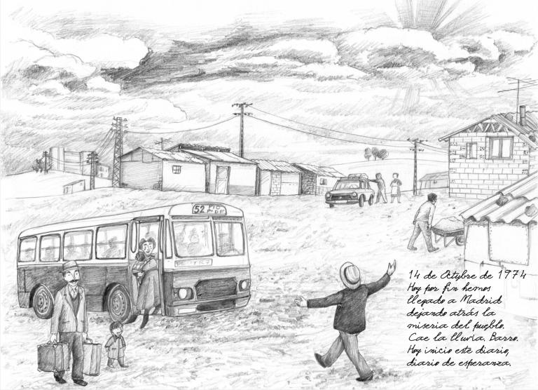 El Diario de Conchi Barrios o la historia del movimiento vecinal de la FRAVM