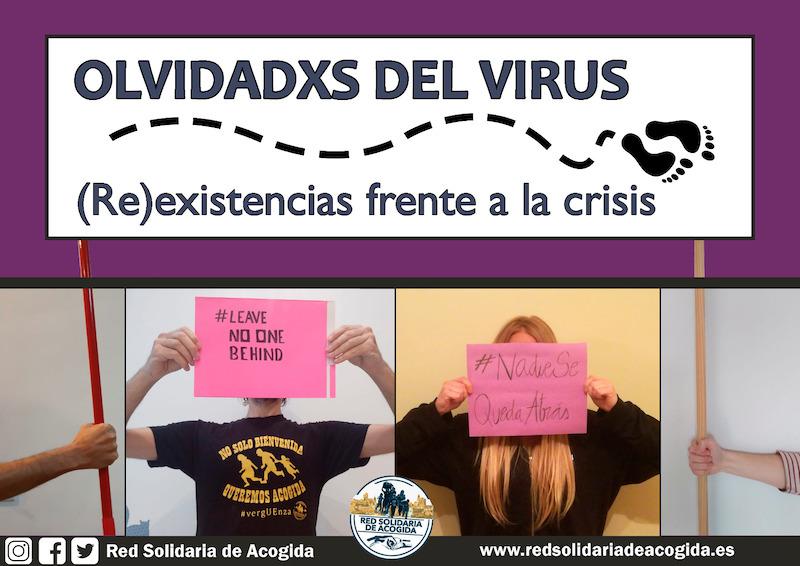 """La Red Solidaria de acogida lanza la campaña """"Olvidadas por el virus"""""""