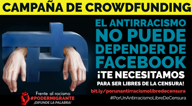 Campaña de crowdfunding por un antirracismo libre de censura
